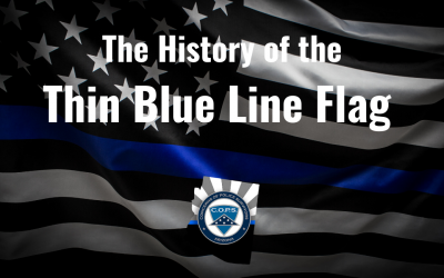 The History of the Thin Blue Line Flag