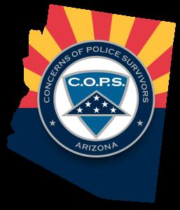 C.O.P.S. Arizona logo