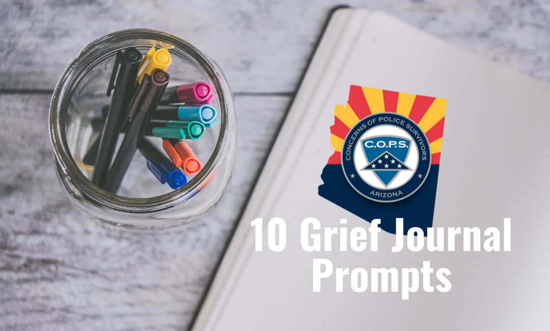 10 Grief Journal Prompts
